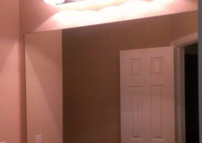 9 Grapevine Bathroom Mirror Before Las